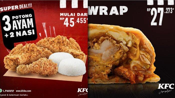 Promo KFC Oktober 2020 - Crispy Wrap Rp 27 Ribuan, Buy 1 Get 1 Free, Winger Bucket Deal, Super Deal