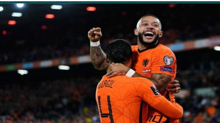 Skor Laga Kualifikasi Piala Dunia 2022, Belanda Cetak 6 Gol Tanpa Balas ke Gawang Giblartar
