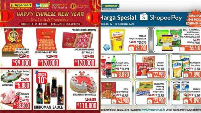 Promo Terbaru Hypermart 12 Februari 2021, Diapers Rp49.900, Paket Bersih Unilever Rp55.000, Snack