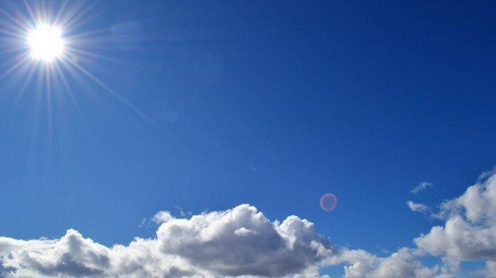 ilustrasi cuaca cerah