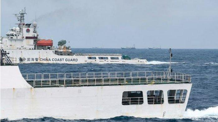 Usir Kapal Pencuri Ikan Milik China, TNI: Sesuai Perintah Presiden, Kapal Tersebut Ditangkap