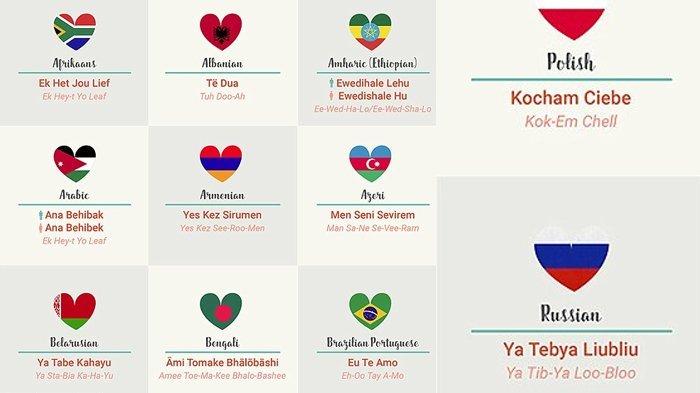 Arti Kata Cinta Dalam Berbagai Bahasa Di Dunia Apihyayan Blog