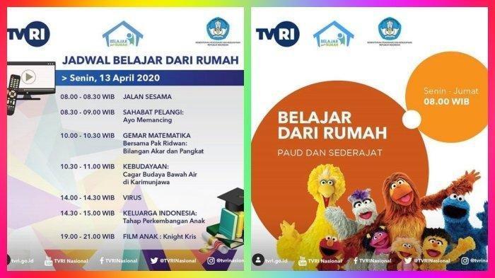 Ada Perubahan! Ini Jadwal Lengkap Live Streaming TVRI Belajar dari Rumah Hari Ini, Pukul 08.00 WIB