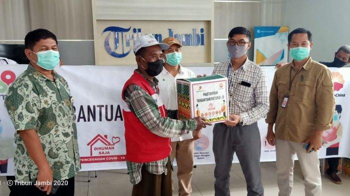 200 Pengecer Tribun Jambi Terima Bingkisan dari SKK Migas-PetroChina