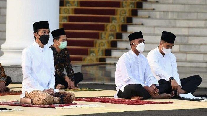 Serda Ridwan Payopo Anggota Paspampres, Jadi Imam & Khatib Salat Idul Fitri di Halaman Istana Bogor