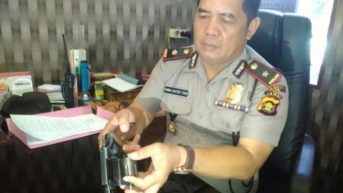 Polisi Usut Asal-usul Senpi Organik yang Dipakai Tukang Begal di Telanai Ini
