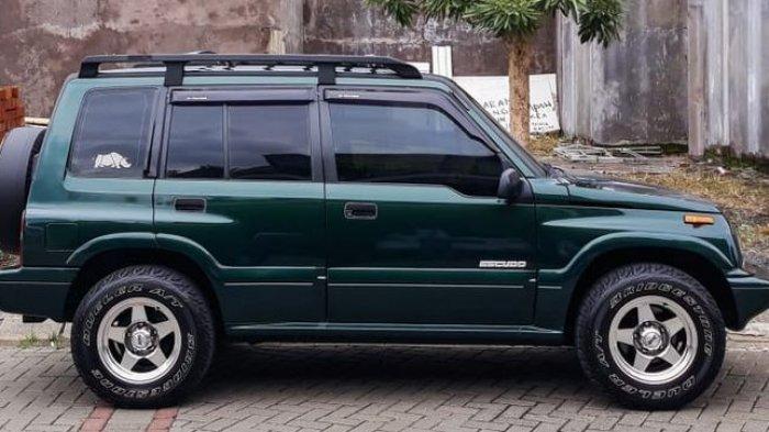 Ilustrasi Suzuki Escudo bekas
