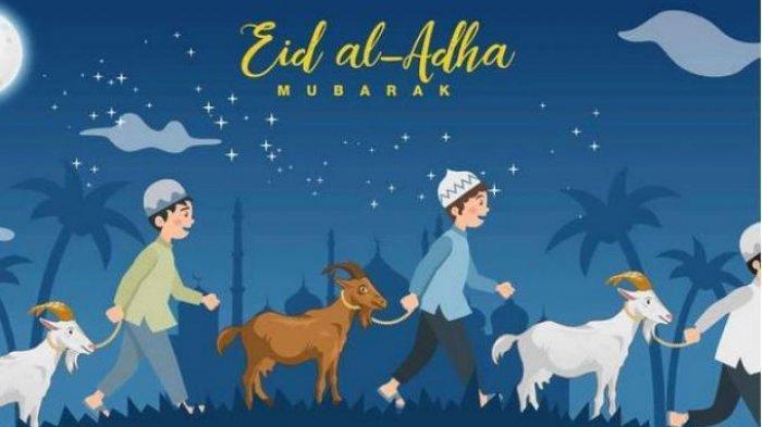 Kumpulan Ucapan Selamat Hari Idul Adha 2021 Lengkap Bahasa Inggris dan Artinya untuk WA dan FB