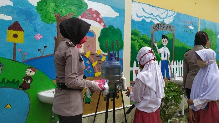 Kepsek SMP 2 Kuala Tungkal Klarifikasi Soal Penerapan Protokol Kesehatan yang Tak Maksimal