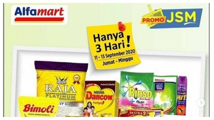 Katalog Promo JSM Alfamart 11-13September 2020 - Beras, Minyak, Kebutuhan Dapur, Susu Anak, Sabun