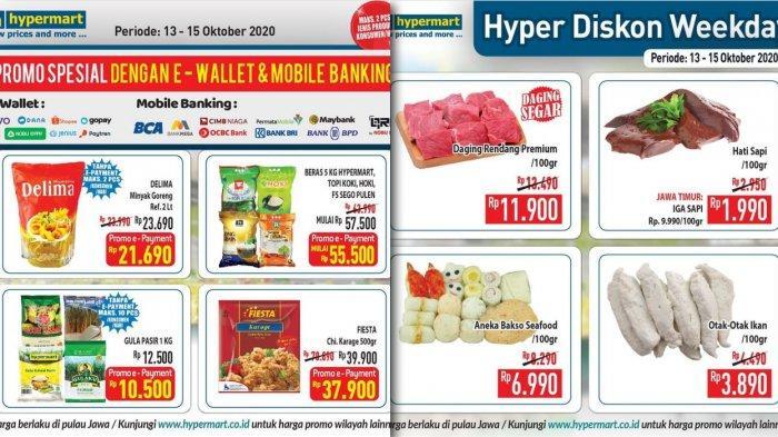 Promo Hypermart Sampai 15 Oktober 2020 Daging Aneka Bakso Susu Roti Buah Buahan Container Besar Tribun Jambi