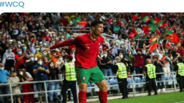 Hasil Kualifikasi Piala Dunia 2022 Tadi Malam - Hattrick Ronaldo Bawa Portugal Tekan Luksembirg