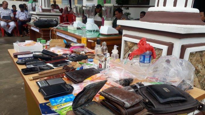 Barang Bukti dari 88 Kasus yang Sudah Berkekuatan Hukum Tetap Dimusnahkan di Kuala Tungkal