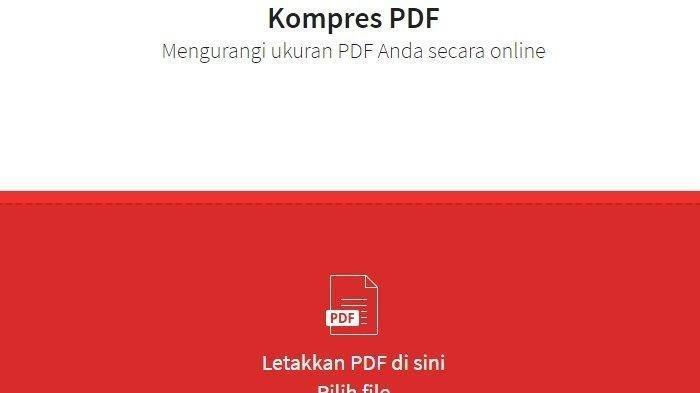 Cara Kompres File PDF & Foto untuk Syarat Pendaftaran CPNS 2019
