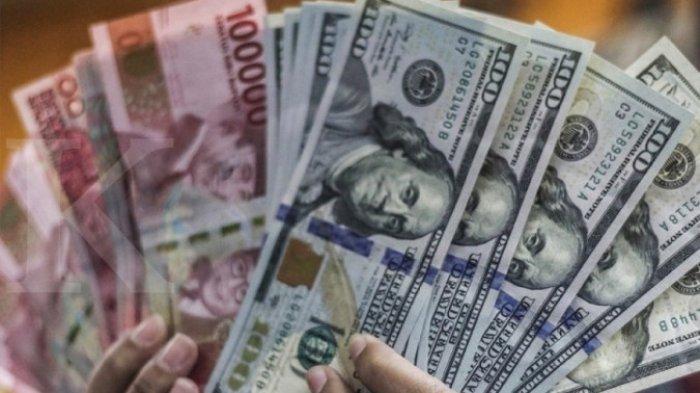 Kurs Dollar Rupiah Bank BRI BNI dan Mandiri Siang Hari Ini 8 Juni 2021