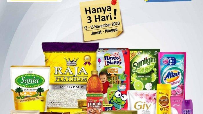 Promo JSM Alfamart Jambi Hingga 15 November 2020, Beras, Pencuci Piring, Detergen, Susu, Sabun Mandi