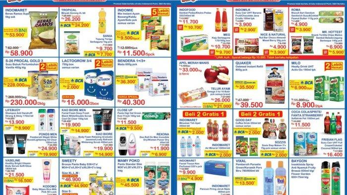 Cuma Tiga Hari (13-15/11) Promo JSM Indomaret, Susu, Telur, Minyak, Popok, Beras, Pencuci Piring