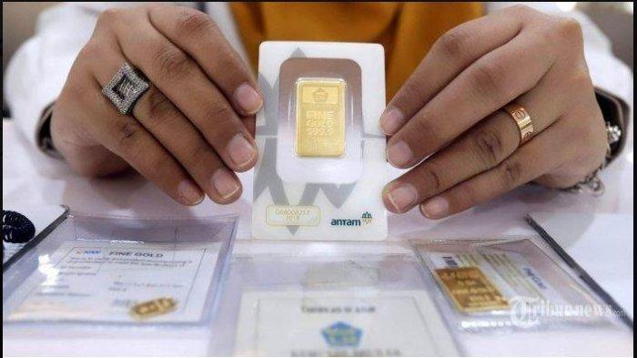 Harga Emas Hari Ini 24 Maret 2021 Rp 921.000 per gram Harga Buyback Rp 800.000 per gram