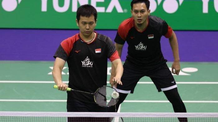 Lagi Tanding, Live Streaming Thailand Open 2021 Sekarang, Ahsan/Hendra Main, Jonatan Christie Nanti