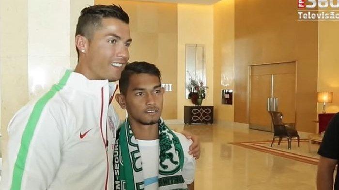 Lama Jadi Anak Angkat Ronaldo, Martunis Mengaku 3 Permintaan Ini Sudah Terkabulkan Oleh CR7