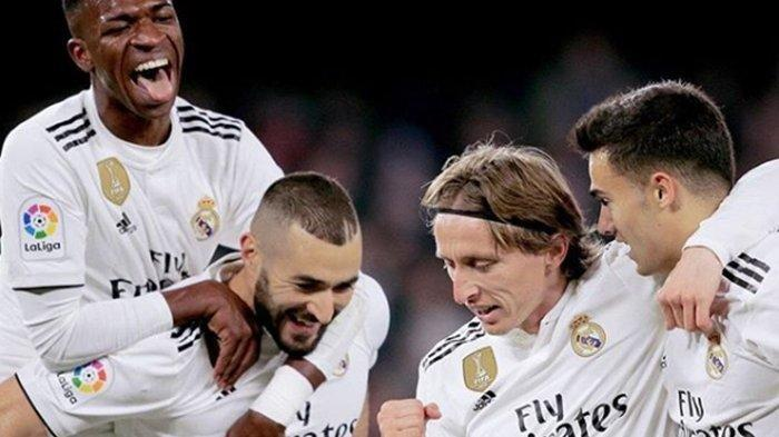 Nonton di TV Online RCTI Link Live Streaming Real Madrid vs Tottenham Hotspur di AUDI CUP 2019