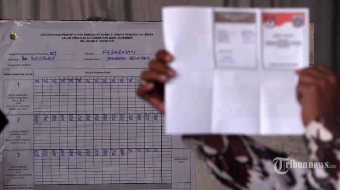 Ilustrasi- Kelompok Penyelenggara Pemungutan Suara (KPPS) melakukan penghitungan surat suara.