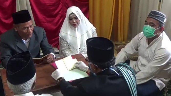 Maksimal Dihadiri 30 Orang, Aturan Baru Akad Nikah di Saat New Normal Dari Menteri Agama