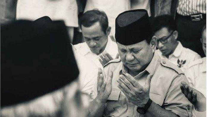 Innalillahi Wainna Ilaihi Rajiun, Prabowo Subiyanto Sampaikan Kabar Duka