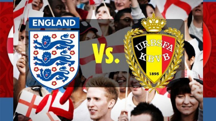 Belgia vs Inggris - Babak 1, Belgia Unggul 1:0