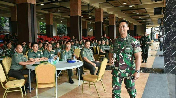 Sosok KSAD Andika Perkasa, Tegas Copot Jabatan 3 Oknum TNI yang Istrinya Sindir Insiden Wiranto