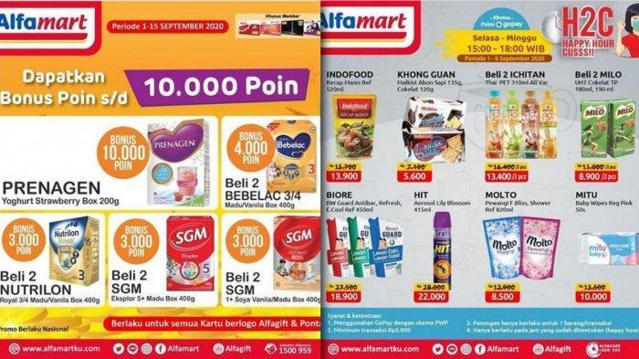 Promo Alfamart sampai 15 September 2020 - Produk Susu, Snack, Kebutuhan Rumah Tangga