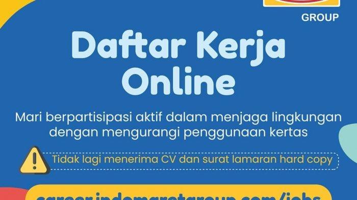 Lowongan Kerja Indomaret Untuk Lulusan Sma S2 Lokasi Penempatan Dan Daftar Online Cek Disini Halaman All Tribun Jambi