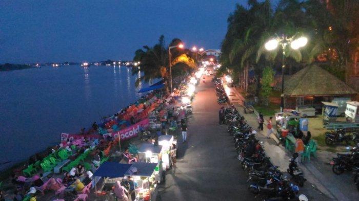 Nikmati Soremu Melihat Matahari Terbenam di Pinggir Sungai Batanghari, Tanggo Rajo Ancol