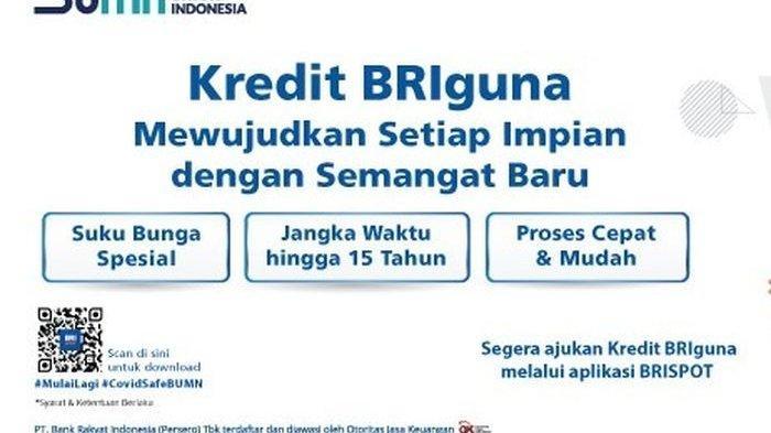 Cara Ajukan Pinjaman Briguna Karya Dari Bank Bri Kredit Tanpa Agunan Dengan Tempo Sampai 15 Tahun Tribun Jambi