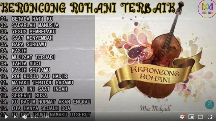 Download Lagu MP3 Mus Mulyadi Keroncong Rohani