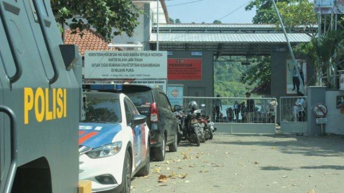 Tiga Narapidana Kelas Berat dari Jambi Dipindahkan ke Lapas Nusakambangan