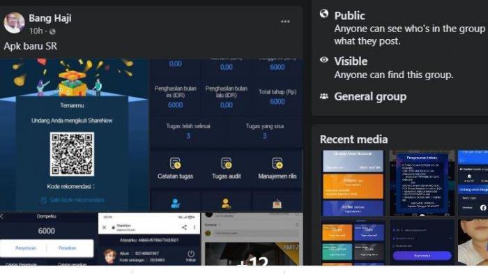 Share Results Hilang Kini Timbul Aplikasi Share Now yang Diduga Aplikasi Investasi Bodong