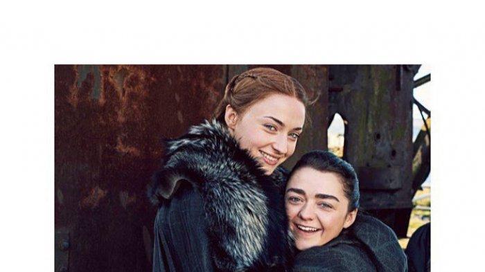 Usai Kakak Adik Di Game Of Thrones Sophie Turner Maisie Williams Ingin Bikin Film Bareng Tribun Jambi