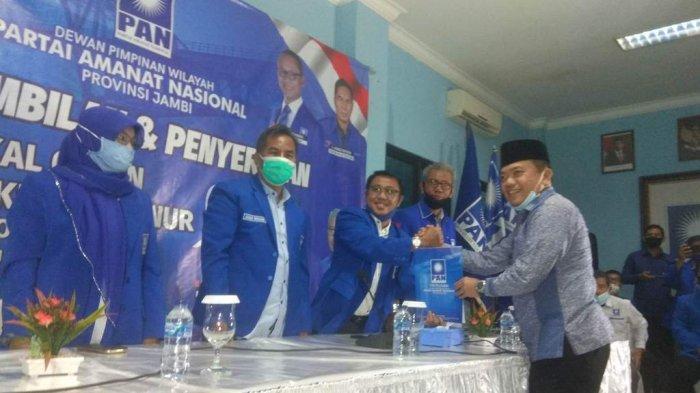 Jelang Pilgub Jambi, Al Haris Pilih Tinggalkan Golkar dan Jadi Kader PAN