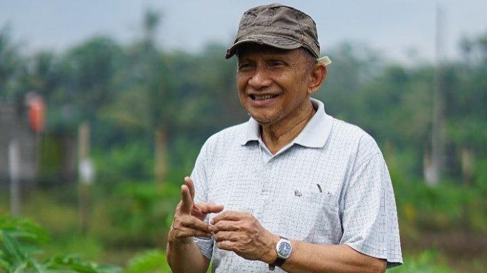 Amien Rais Ingatkan PAN dan Jokowi, Jangan Sampai Parlemen Jadi Tukang Stempel Pemerintah