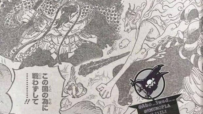Raw Scan One Piece 1019 - Aksi Frangky Hadapi Sasaki, Yamato Sering Mencoba Membunuh Kaido