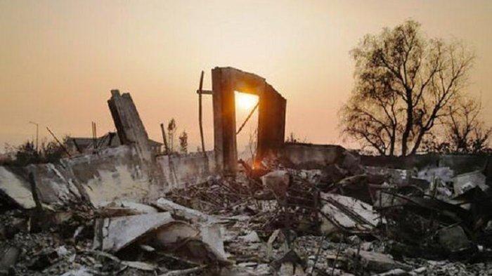 Korban yang Tewas Pada Kebakaran di Sentra Perkebunan Anggur California Meningkat Jadi 40 Orang