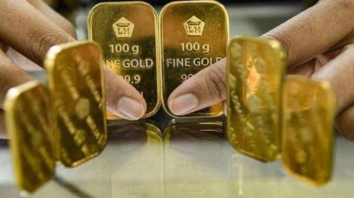 Harga Emas Hari Ini 27 April 2021 di Pegadaian Emas Antam Stagnan Emas UBS Naik Rp2.000