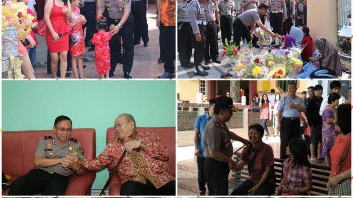 Kapolda Jambi Cek Tempat Ibadah dan Silaturahmi Bersama Warga Tiong Hoa