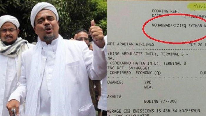Polisi Hentikan Kasus 'Chat',  Rizieq Shihab Bakal Pulang ke Indonesia