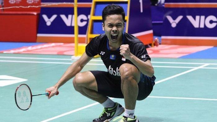 Hong Kong Open 2019 - Menang Derby Indonesia, Ginting  Susul Ahsan/Hendra ke Final