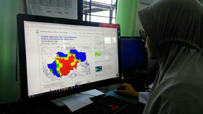 Hari Ini Titik Panas di Jambi Nihil, Terpantau di Provinsi-provinsi Tetangga