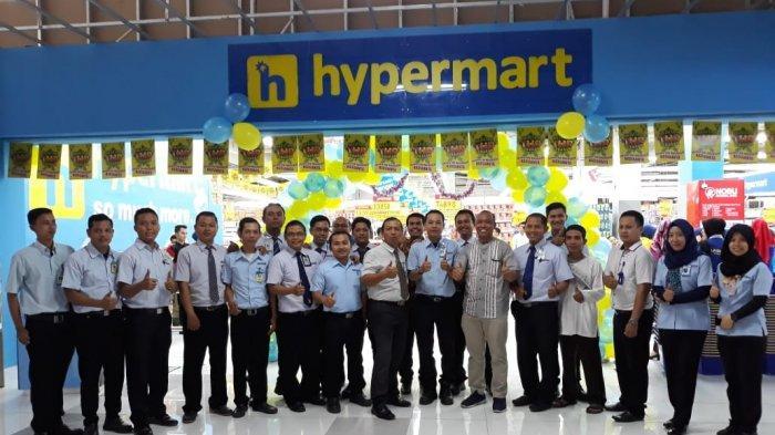 Relaunching Hypermart WTC Batanghari Jambi, Banyak Promo dan Hadiah Belanja Cek Waktunya di Sini