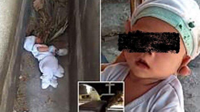 ASTAGA! Bayi Dua Bulan Dibuang di Celah Kuburan