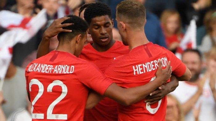 UPDATE EURO 2020, Gelandang Liverpool Beri Balasan Menohok ke Legenda MU Jelang Inggris Vs Kroasia